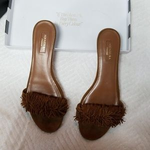 Aquazzura Firenze Slides!